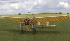 "French Bleriot XI 1/4 scale 85"" ws scratch build R/c Plane Plans & Patterns"