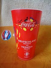 Coca Cola Fan Becher Deutschland - Ukraine Match 7