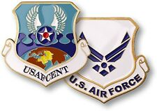 USAF CENT Challenge Coin US Air Force Central Command Shaw AFB SC Logo Insignia