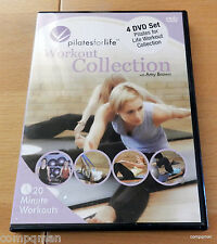 Pilates For Life - Workout Collection with Amy Brown (DVD, 2008, 4-Disc Set)