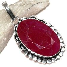 B8067 GRACEFUL @ RUBY PENDANT 2.1""