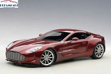 AUTOart 70245 1:18 Aston Martin One-77 Diavolo Red- NEW COLOR!