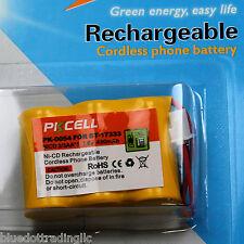 PKCELL Battery for Vtech BT-163345 BT-17333 CS5111-2 CS5121 CS5113 3.6V
