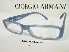GIORGIO ARMANI 360 Azzurro montatura per occhiali vista Eyewear New Original
