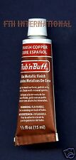 Spanish Copper 76306K ~ Amaco Rub 'N Buff Uncarded Wax Metallic Finish Crafts
