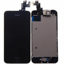 Black LCD Lens Touch Screen Display Digitizer Replacement Assembly for iPhone 5S
