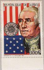 Guinea 1987 1176 a 1044 famous men george washington us statesman military mnh