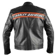 New Men's Harley Davidson Screamin Eagle Leather Jacket