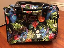 Loungefly LILO Stitch Purse Bag Black Strap Cross body Disney Hot Topic Cute
