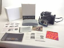 Vintage Polaroid Model 210 Land Camera With Original Box Untested