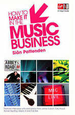 How to Make it in the Music Business (Virgin Careers Guides),ACCEPTABLE Book