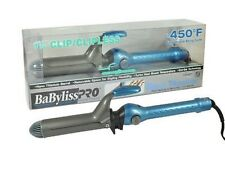 BabylissPRO Nano Titanium BABNT125CS 1-1/4 Barrel Clip/Clipless Curling Iron