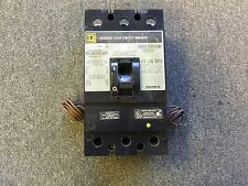 SQUARE D CIRCUIT BREAKER 150 AMP 600V 3 POLE KAL361501164 UNDER VOLTAGE RELEASE