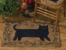"Folk Cat Hand-Hooked Rug by Park Designs - 24"" x 36"""