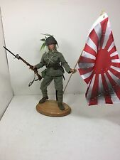 1/6 BBI IMPERIAL JAPANESE NAVY MARINE BATTLE FLAG ARISAKA WW2 DRAGON DID 21ST