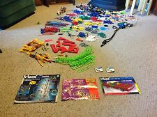 Used. Huge Lot of K'Nex with Manuals.  What you see is what you get!  #50