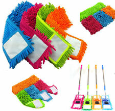 2 x MICROFIBRE MOP Heads Refill Replacement Dust Cloth Washable Cleaning Pad