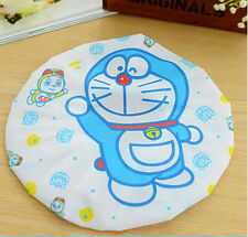 Doraemon Women Lady Waterproof Elastic Plastic Shower Bathing Salon Hair Cap Hat