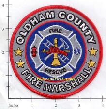 Kentucky - Oldham County Fire Marshall KY Fire Dept Patch