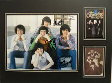THE OSMONDS Signed 16x12 Photo Display JIMMY, JAY & MERRILL COA