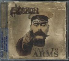 SAXON CALL TO ARMS SEALED CD NEW