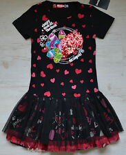 DESIGUAL GIRLS KLEID DRESS ROUGE 71V32G1 NEU SOMMER 2017 Gr. 134/140 / 9/ 10 Y