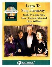 """Hal Leonard """"LEARN TO SING HARMONY"""