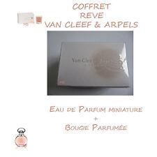 LOT COFFRET REVE VAN CLEEF & ARPELS Eau de parfum + Bougie NEUF Sous blister