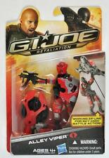 G.I.JOE RETALIATION ALLEY VIPER  ACTION FIGURE MOC W/ Working Zip Line