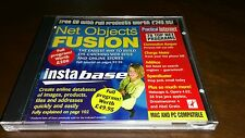 CD-ROM software NET OBJECT FUSION UK Import Build Websites Online Stores Mac PC