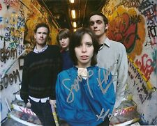 Autographed The Jezabels Hayley Mary 8x10 Photo 4