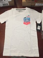 NWT Boys Child's Size Large Hurley Shirt White  (#4)