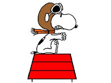 SNOOPY RED BARON t shirt transfer for light fabric - FREE POSTAGE