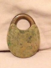 Old rare Vintage Antique Brass Copper Pad Lock Handmade unique collectible