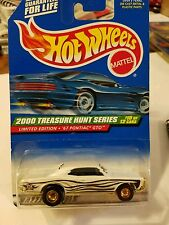 Hot Wheels,2000,TH Series,#10,'67 Pontiac Gto slight crease on back