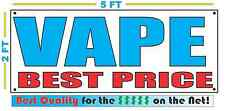 VAPE BEST PRICE Banner Sign NEW Larger Size Best Quality for The $$ SMOKE SHOP