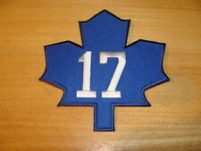 NHL Hockey Toronto Maple Leafs Wendel Clark Retirement Night Jersey Patch TML
