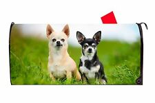 Chihuahua Dog Magnetic Vinyl Mailbox Cover Made In USA