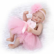 "10"" lifelike reborn premie doll Anatomically Correct girl  soft gentle touch"