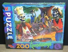 MB PUZZLE 200 - GOOSEBUMPS - PICCOLI BRIVIDI - 1994 - NUOVO NEW OLD STOCK SEALED