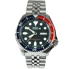 Seiko Divers Blue Red Bezel Automatic 200M Sports Watch SKX009K2 SKX009