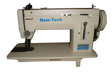 NEW-TECH Portable Walking Foot Long Arm Zig Zag & straight sewing Machine 110 V,