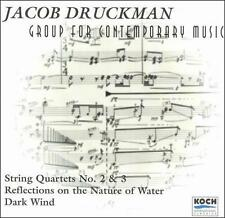 Jacob Druckman: String Quartets Nos. 2 & 3; Reflections on the Nature of...