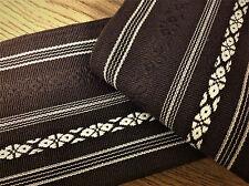 Brown Kaku Obi belt iaido iaito kendo aikido Karate martial arts Japanese arts