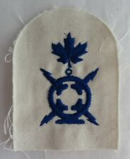 ROYAL CANADIAN NAVY RADIO TECHNICIAN PATCH BADGE -  BLUE THREAD  (INV2678)