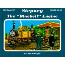 SIGNED The Railway Series No 18 Stepney the  Bluebell  Engine by Rev,W.Awdry