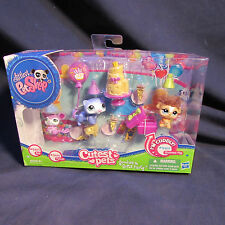Littlest Pet Shop Cutest Pets Goodies & Gifts Party with Rat 2489, Ferret 2490