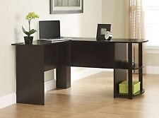 Furniture Home Office Desk Computer Corner Wood Table Laptop Workstation Student