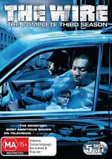 THE WIRE - THE COMPLETE THIRD SEASON 5DISC-SET, Region: 4