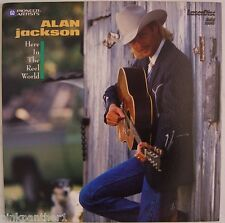ALAN JACKSON  Here In The Reel World  Country  Music  Live & Videos  Laserdisc